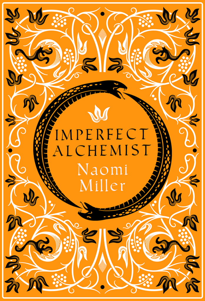 The book cover for Imperfect Alchemist by Naomi Miller